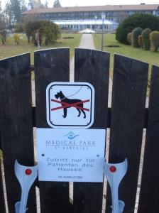 Aufgabe 2012: ohne Krücken und ohne Hund täglich 10 Minuten zügig gehen!