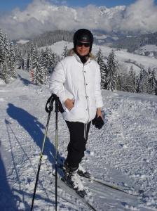 14 Wochen nach der 2. Hüft-OP wieder auf Skiern!