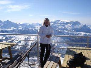 Dolomiten-Pracht am Falzarego-Pass - und viele schwarze Pisten rund um Cortina d`Ampezzo