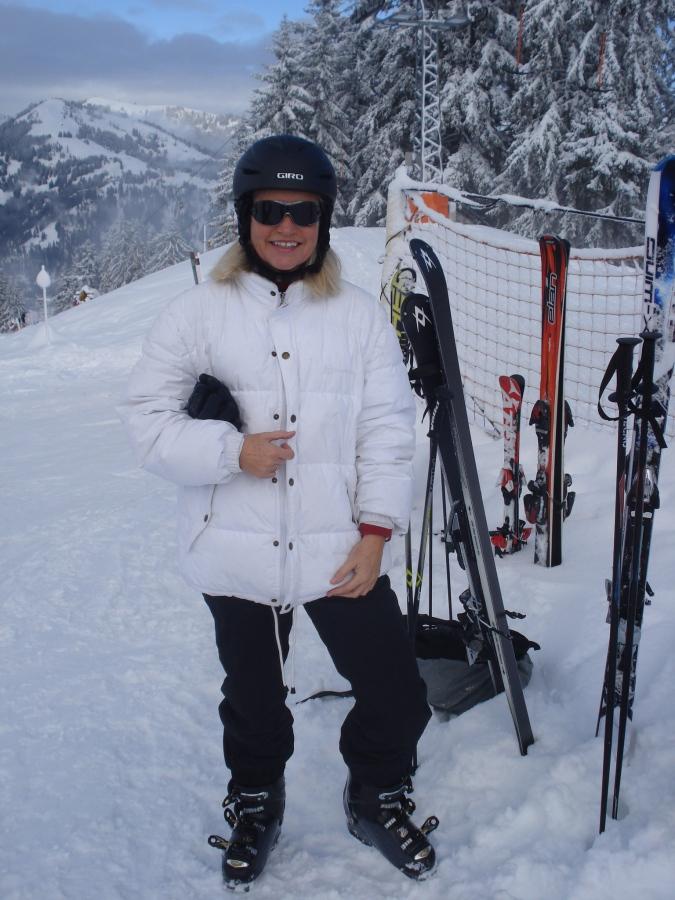 Carving mal wieder im Schnee: 14 Monate nach der zweiten Hüft-OP in Gstaad