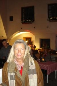 Heidi Rauch gut zu Fuß bei der Ameranger Schlossweihnacht 2014