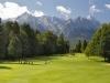 Herrlicher Alpenblick für alle Golfer im GC Werdenfels bei Garmisch-Partenkirchen