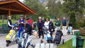 Sonne und gute Laune beim 1. TEPFIT-Golfturnier
