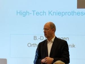 Kompetent informierte Prof. Dr. Katthagen die Teilnehmer u. a. auch über Konchentransplantate.