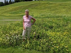 Bergblumenwiese am Golfplatz Berchtesgaden