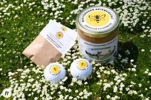 Ein Refugium für Bienen sind die Wiesen des Golfclubs München Eichenried.
