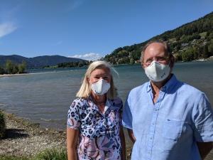 Gut ausgerüstet mit der TEP FIT-Maske von Enrico Belleggia